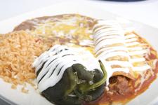 Chile Relleno & Enchilada