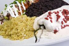 Relleno en Nogada & Enchilada